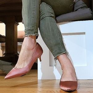 Cole Haan Vesta Pump 45mm Satin Mauveglow